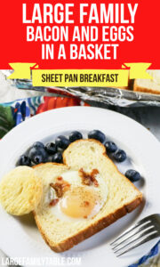 Bacon and Eggs in a Basket