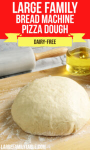 Large Family Pizza Dough