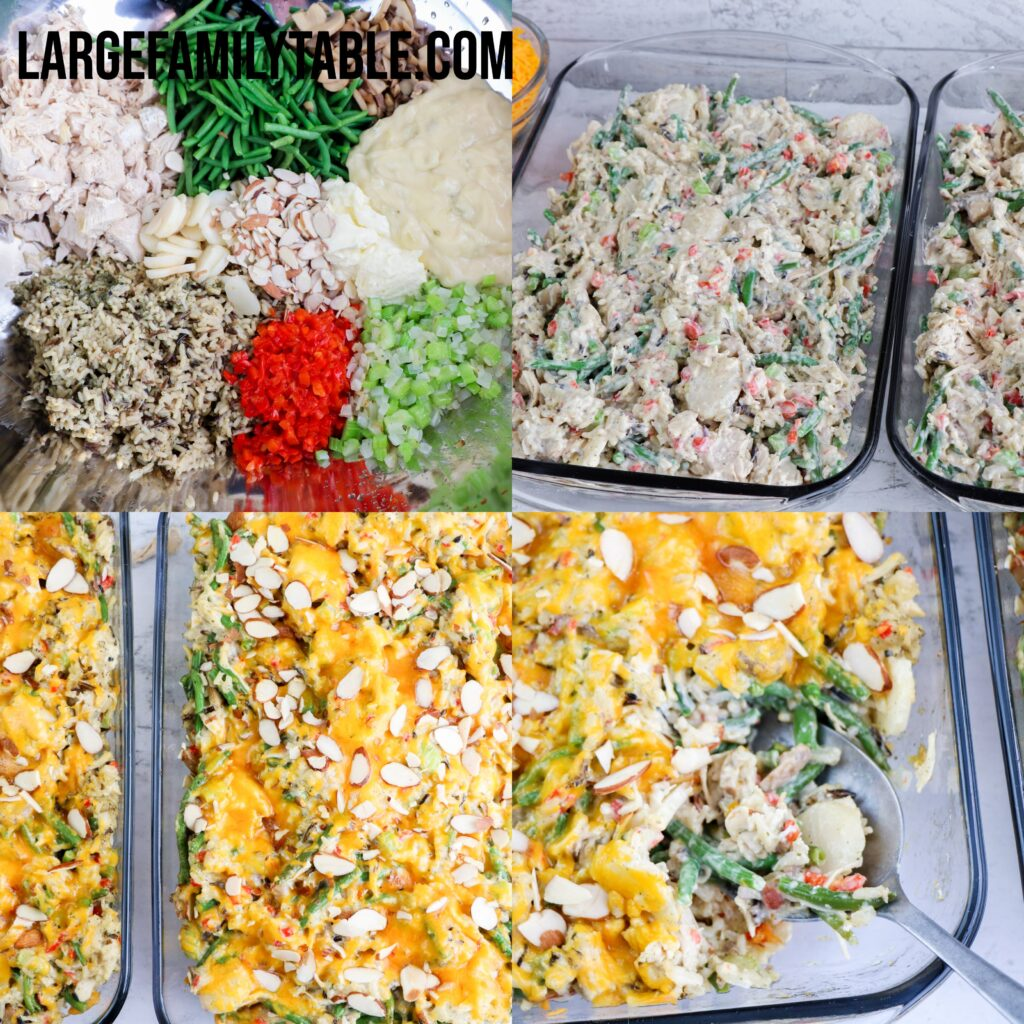 Large Family Chicken Spectacular Casserole