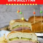 Large Family Deli Sandwiches