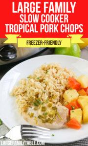 Tropical Pork Chops
