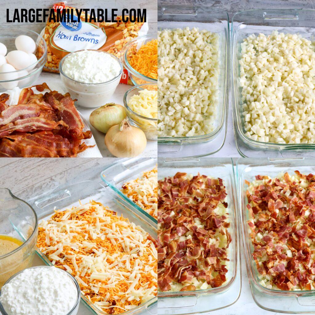 Large Family Hearty Breakfast Casserole | Freezer-Friendly, Make-Ahead Meal