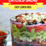 Large Family Berry Blue Layered Salad