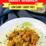 Low Carb Coconut Curry Chicken