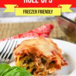Large Family Lasagna Roll Ups