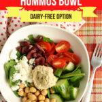 Large Family Hummus Bowl