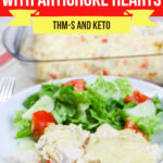 Low Carb Parmesan Chicken with Artichoke Hearts