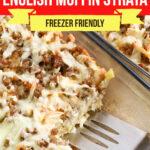 Large Family English Muffin Strata