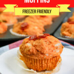 Large Family Supreme Pizza Muffins
