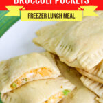 Large Family Cheesy Chicken and Broccoli Hot Pockets