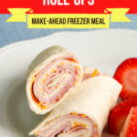 Large Family Ham and Chesse Roll Ups