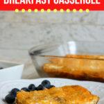 Low Carb Bacon Breakfast Casserole