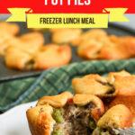 Large Family Mini Beef Pot Pies