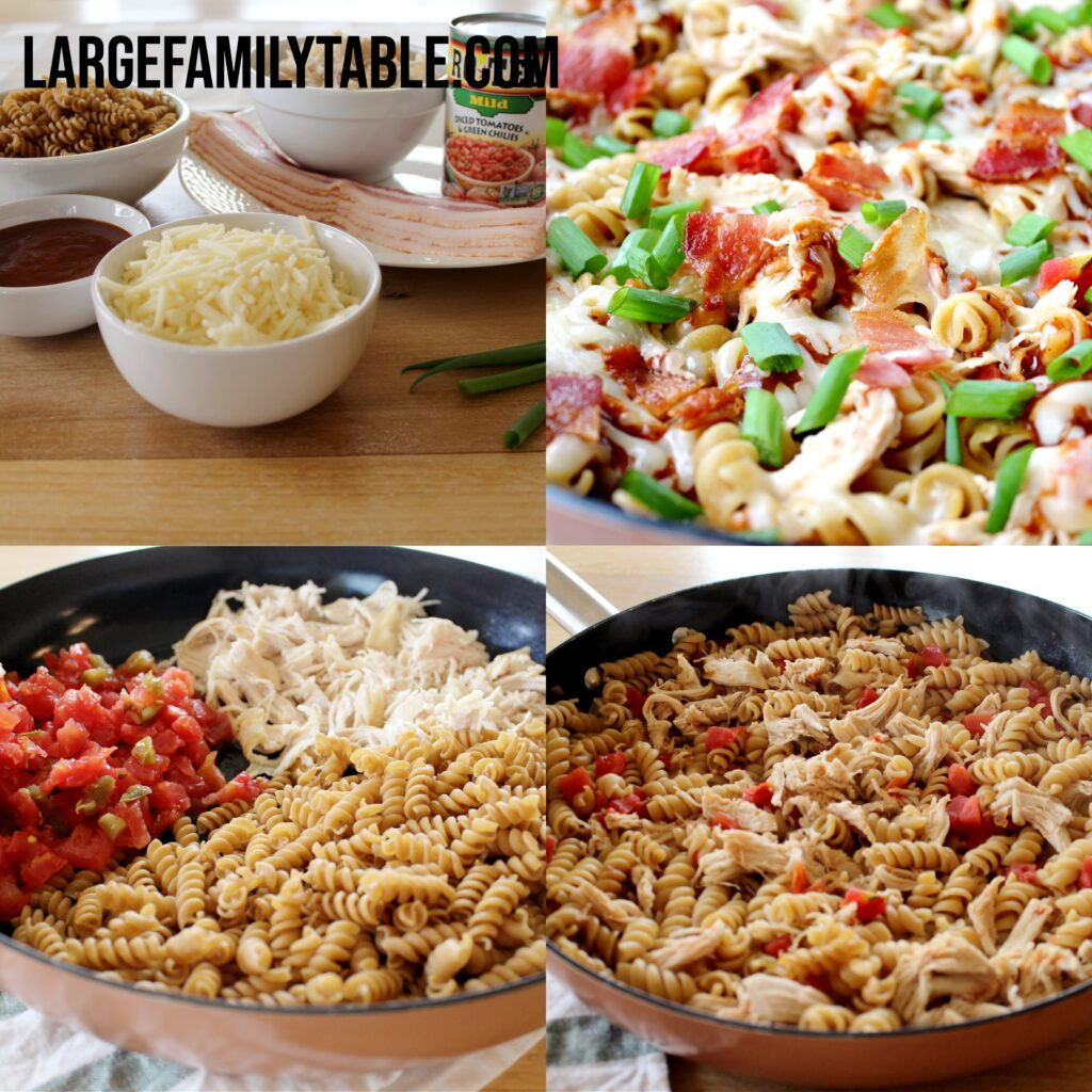 Big Family Monterey Chicken Skillet Meal