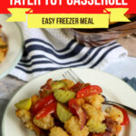 Large Family Bacon Cheeseburger Tater-Tot Casserole