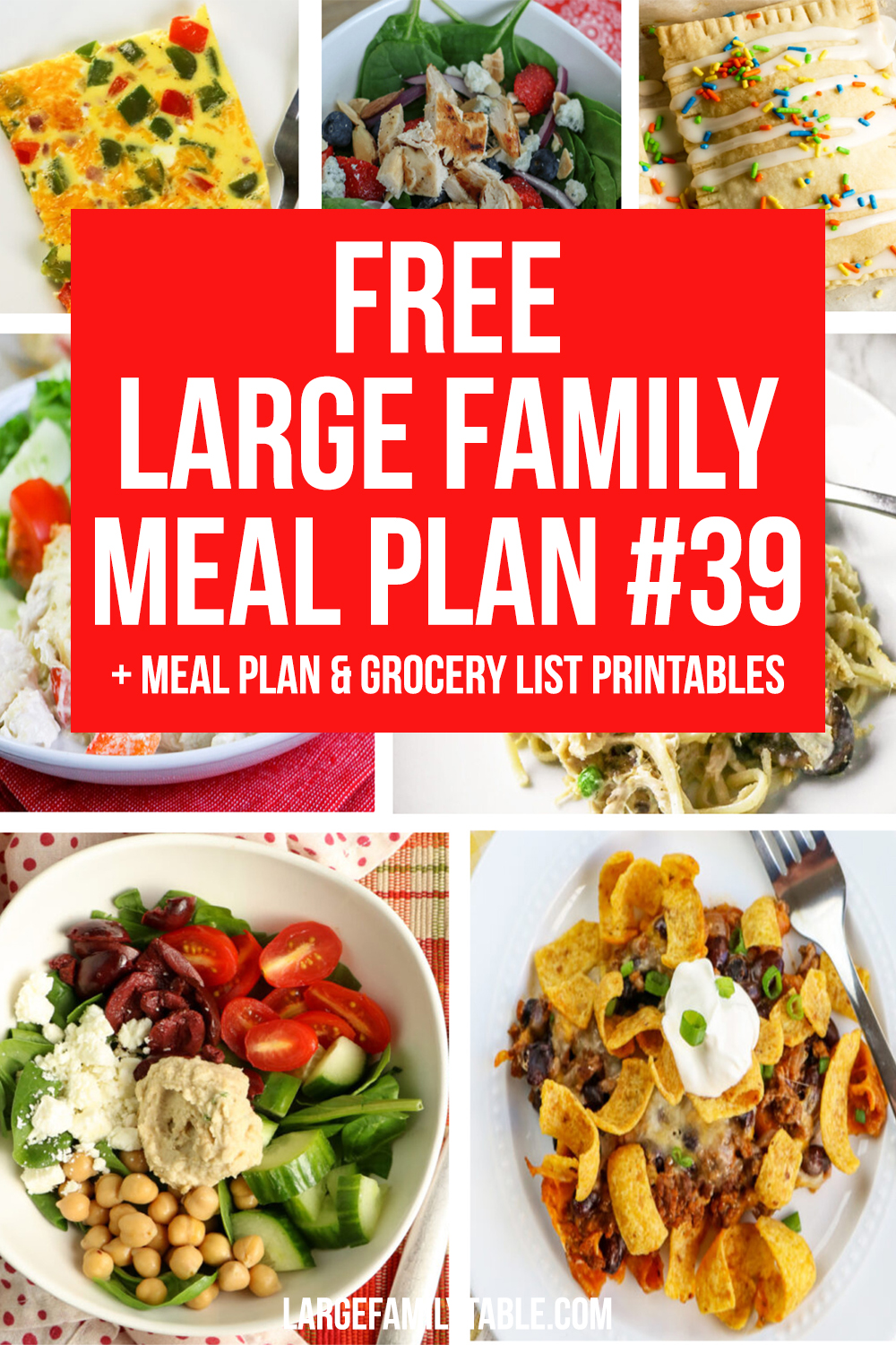 Large Family Meal Plan 39
