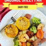 Large Family Cajun Shrimp and Sausage Sheet Pan