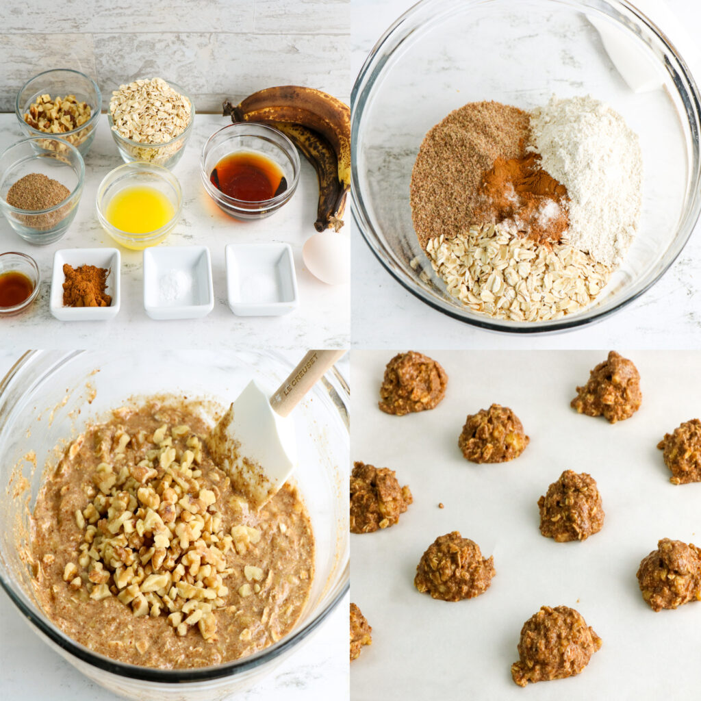Large Family Oatmeal Banana Breakfast Cookie   On-the-Go Breakfast Meal! Dairy-Free Option