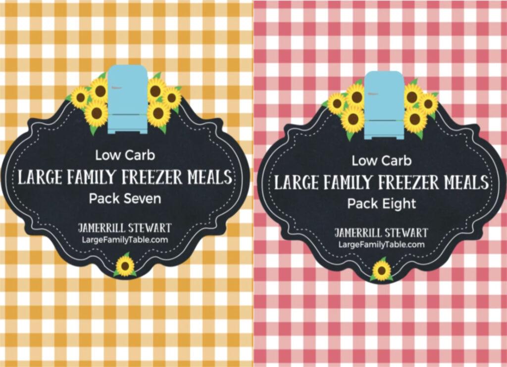 Low Carb Freezer Meals